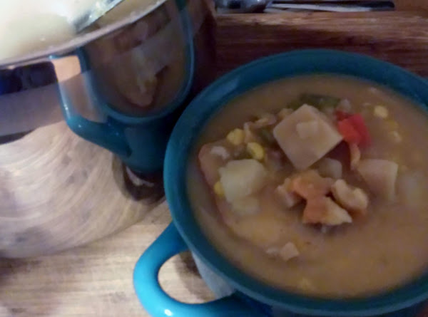 Better For You Seafood Chowder Recipe