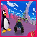 Town Road Speedy Penguins 3D icon