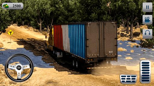 Télécharger Indien Montagne cargaison un camion simulateur mod apk screenshots 4