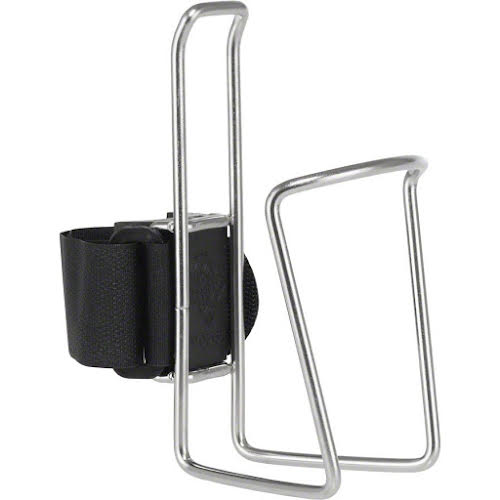 TwoFish QuickCage Water Bottle Cage: Stainless
