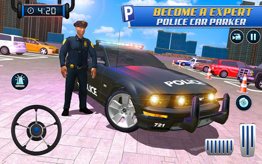 Police Car Parking: Police Jeep Driving Games screenshots 18