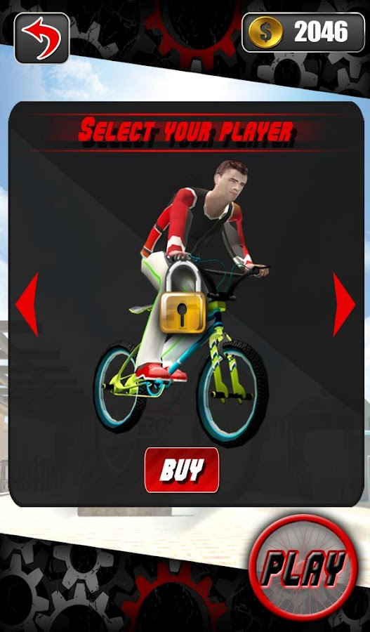 Screenshots of BMX Fever 3D - Speed Escape for iPhone