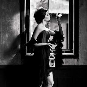 by Jaya Prakash - People Portraits of Women