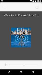 Web Rádio Cacimbinhas Fm for PC-Windows 7,8,10 and Mac apk screenshot 1