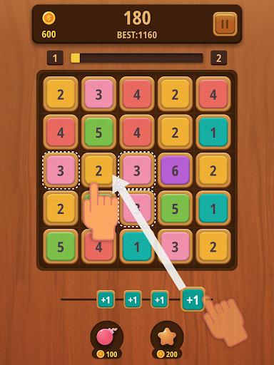 Mergezilla - Number Puzzle apktram screenshots 6