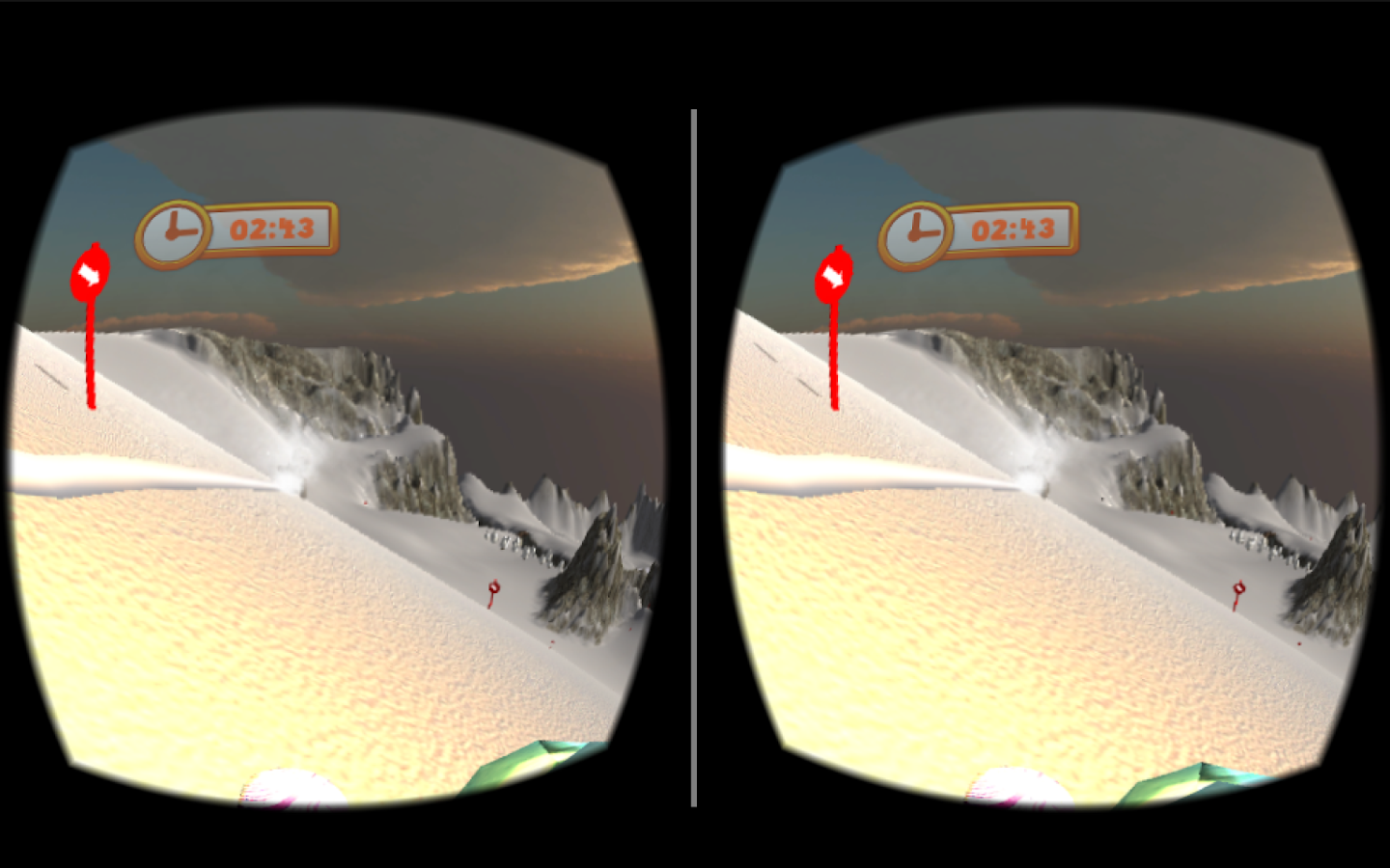 Mad Snowboarding VR- screenshot