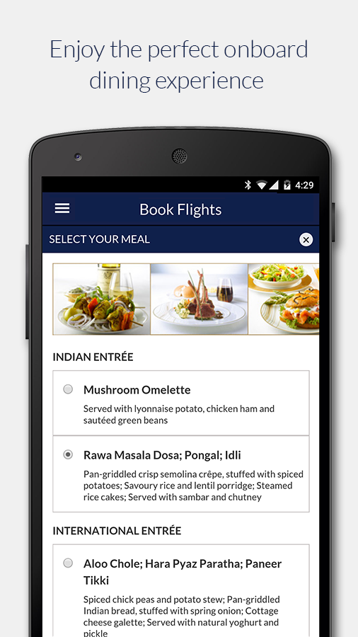 Jet Airways- screenshot