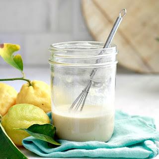 Lemon Tahini Salad Dressing.