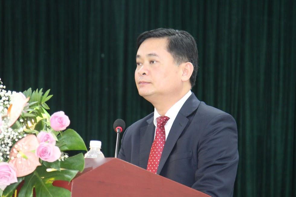 Chủ tịch UBND tỉnh Thái Thanh Quý phát biểu tại Hội nghị