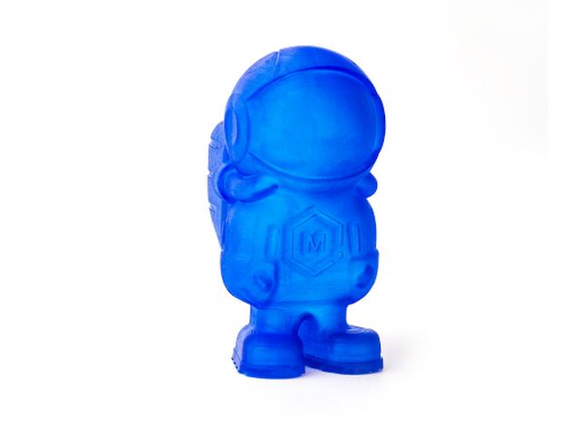 Peopoly Moai Model Resin - Blue (1L)   MatterHackers