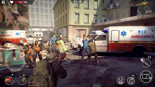 Left to Survive: Zombie Survival PvP Shooter mod apk 3