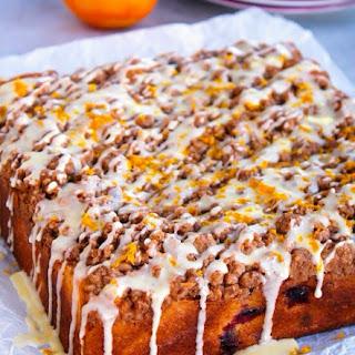 Cranberry Orange Crumb Cake.