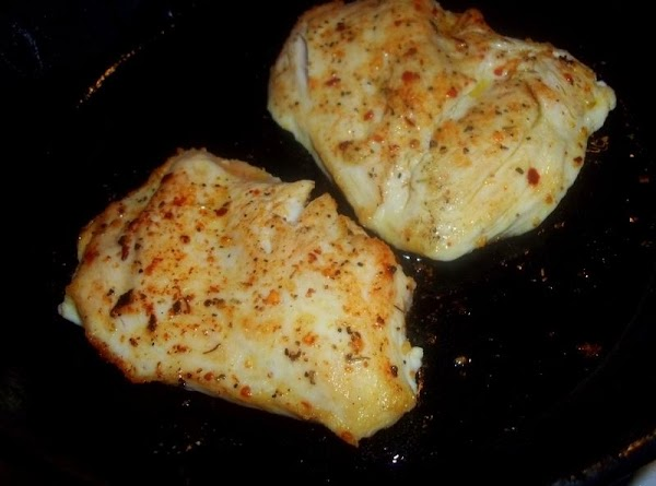 In a skillet; (I use my cast iron) - over medium heat, add oil...