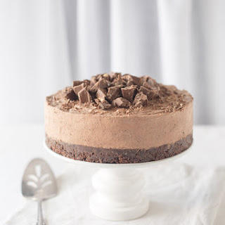 Toblerone Cheesecake // One for the Serious Chocolate Lover Recipe