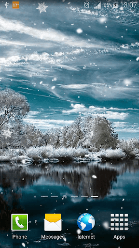 Download Snow Live Wallpaper HD For PC