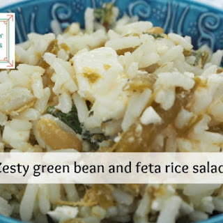 Zesty Green Bean And Feta Rice Salad