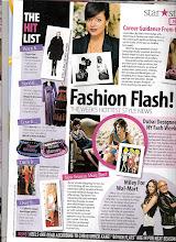 Photo: Aug 90  - AHLAN magazine - FASHION FLASH - Dubai designer showing at NY fashion week