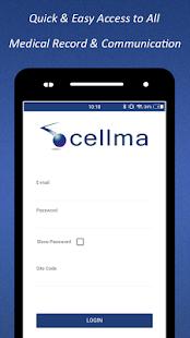 Cellma Patient Portal - náhled