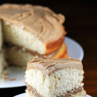 Vanilla Bean and Caramel Cake