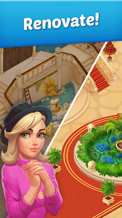 Family Hotel: Romantic story decoration match 3‏ Mod