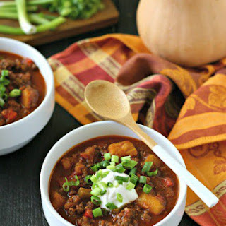 Beef Chili with Butternut Squash.