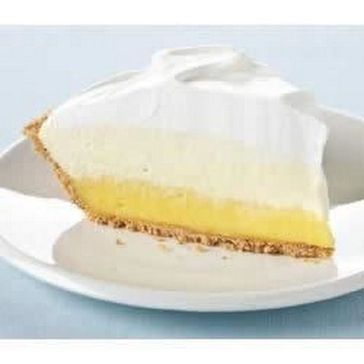 Kraft® Triple-Layer Lemon Pie