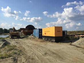 Photo: Inchiriere generator 550 kVA la balastiera