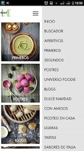 ELLE GOURMET recetas comida- screenshot thumbnail