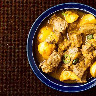 Ethiopian Venison Curry.