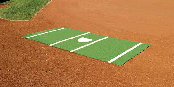 Baseball Home Plate Mat
