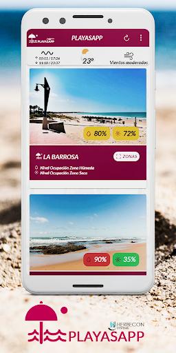 PlayasApp Chiclana screenshot 1