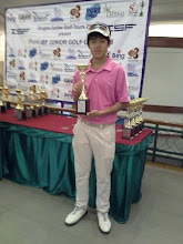 "Photo: คว้าแชมป์ อีกแล้ว ""น้องกาย"" ลูกศิษย์โปรแม่นจาก Real Golf Academy @ Top Class https://www.facebook.com/realgolf"