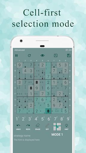 Ninja Sudoku - Logical solver, No ads while gaming 1.7.0 screenshots 3