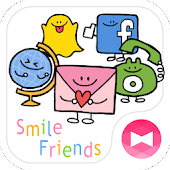 Simple Theme Smile Friends