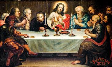 Photo: Abendmahl in der Dorfkirche zu Klütz