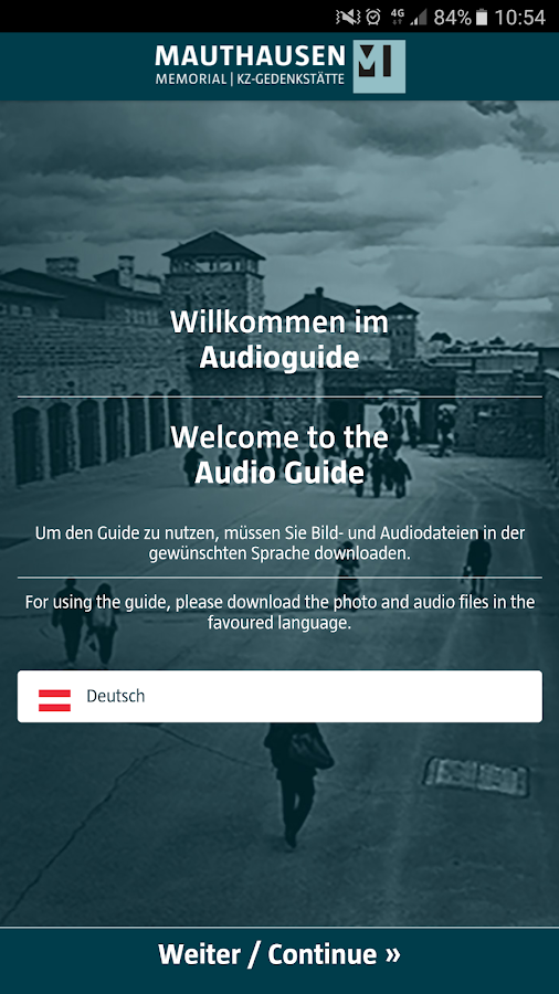 Mauthausen Audioguide- screenshot