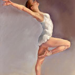 Irina by Margaret Merry - Painting All Painting ( pastel, dancing, spanish, bailaora, art, ballerina, drawing, spain, andalucia, margaret merry, prints, ballet, painting, dance, almeria, dancer )
