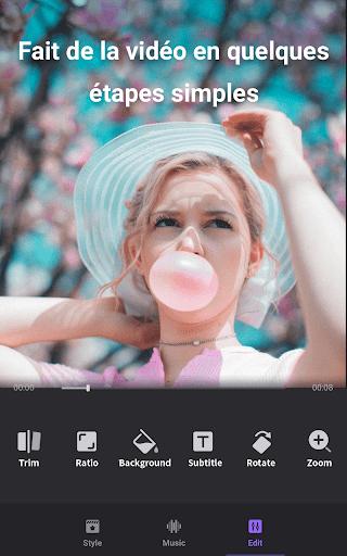 Créateur vidéo de photos avec musique screenshot 3