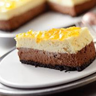 Chocolate-Orange Cheesecake