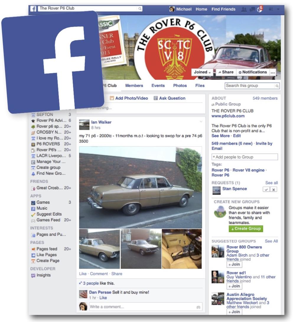 P6 Club Facebook
