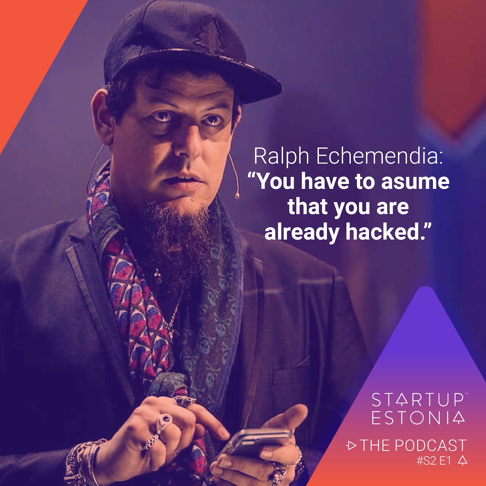 Ralph Echemendia, Startup in Estonia podcast