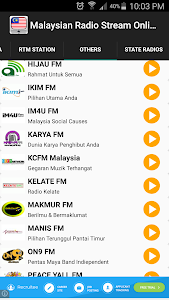 Malaysian Radio Stream Online screenshot 4