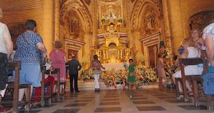 Ofrenda floral a la Virgen del Mar, Patrona de Almería.