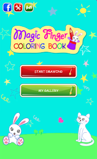 Magic Finger Coloring Book- screenshot thumbnail