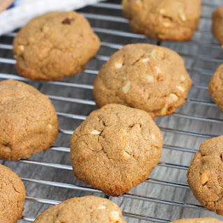 Maple Nut Almond Butter Cookies
