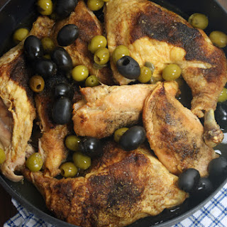 Mediterranean Chicken with Olive and Caper Pan Sauce