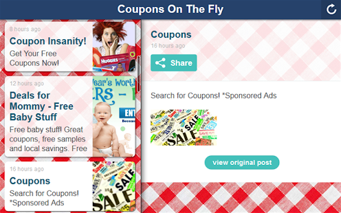 Coupons On The Fly- screenshot thumbnail