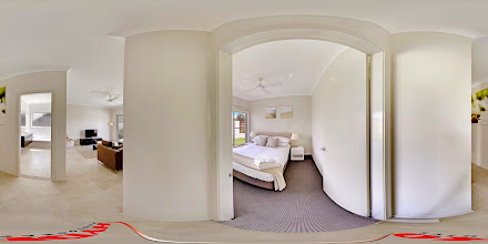 Photo: Beach House 1 - Second Bedroom/ Bathroom/Rumpus Room - Downstairs www.escapeatnobbys.com.au