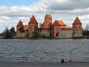 Photo: Trakain linna (yksi Liettuan ex-paakaupungeista)