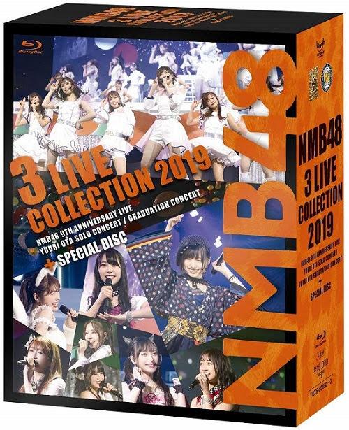 200214 (BDISO) NMB48 3 LIVE COLLECTION 2019 Blu-ray BOX
